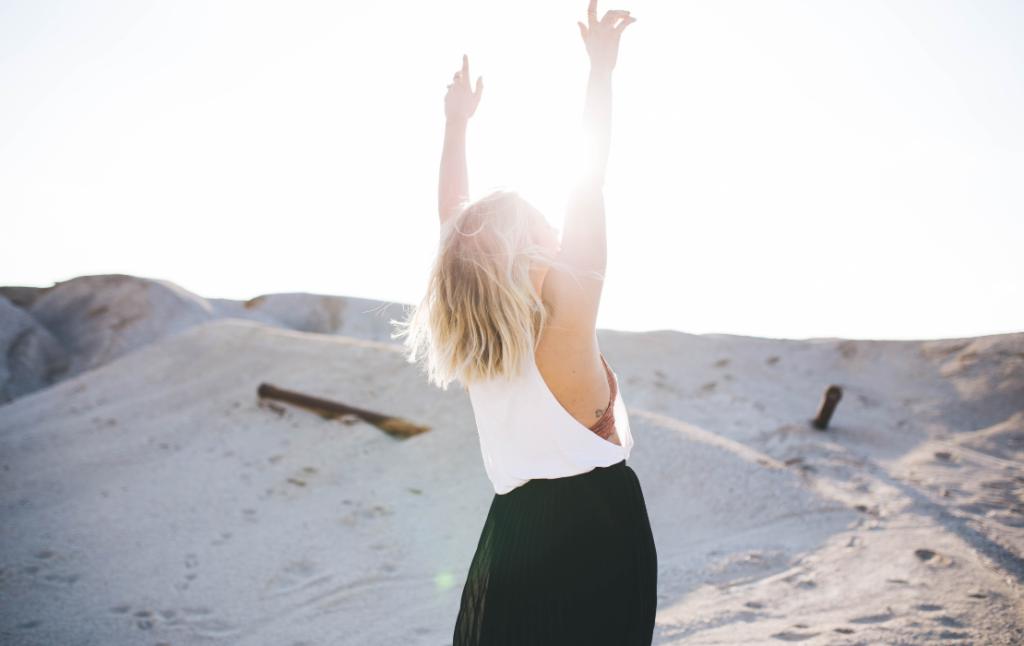 De blijheid in jezelf