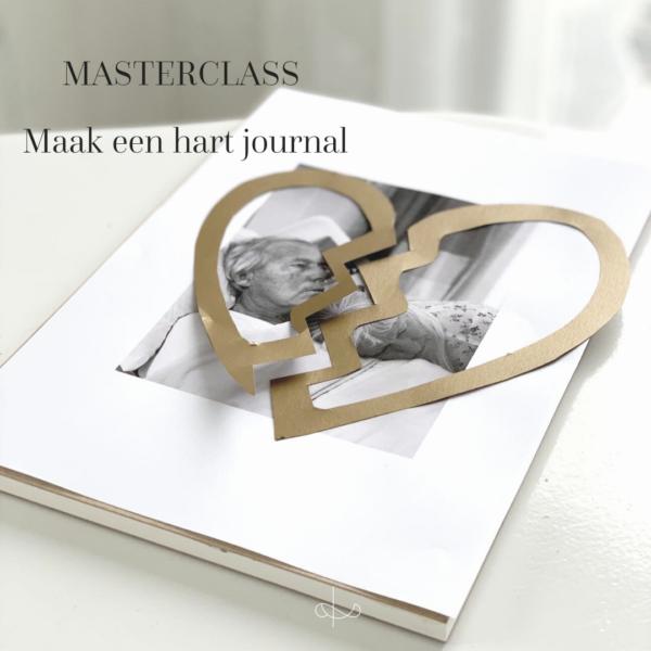 Mastercalss maak een hart journal